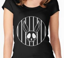 Bunny Skeleton Women's Fitted Scoop T-Shirt