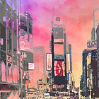City-Art NY Times Square by Melanie Viola