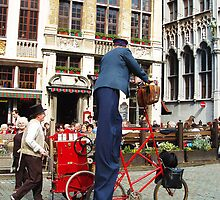 Tallest Postman by Jennifer Lam