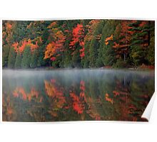 Reflection of Autumn Poster