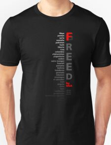 G/Freed by USA - hey, we're the good guys T-Shirt