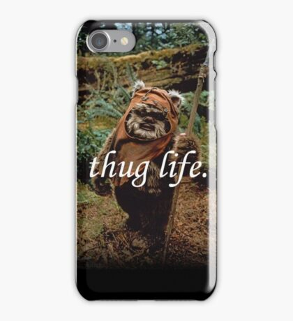Ewok Thuggin' iPhone Case/Skin