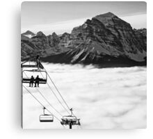 Chairlift to Heaven Canvas Print