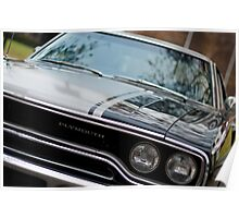 Muscle cars - Plymouth GTX Poster