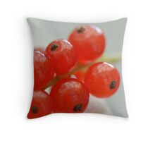 Red Currant I Throw Pillow