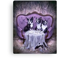 The Weird Litter Mates Canvas Print