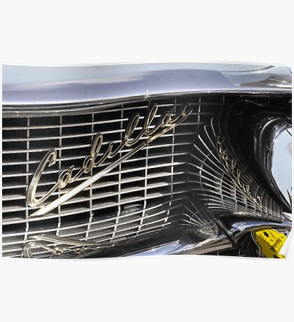 Cadillac grille Poster