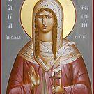 St Photini - The Samaritan Woman by ikonographics