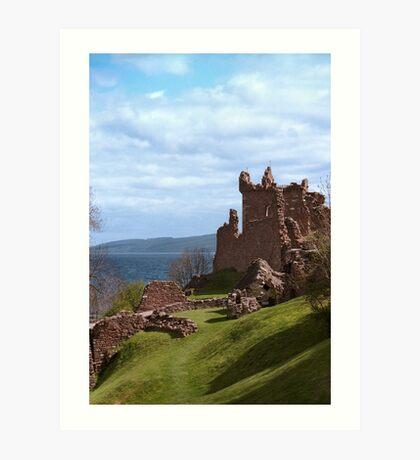 Urquhart Castle Art Print