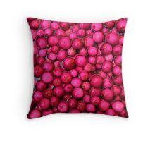 Australian Lilly Pilly Berries Throw Pillow