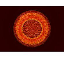 Shell-in-Cork Mandala Photographic Print