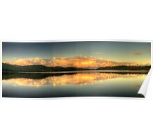 Mirror - Narrabeen Lakes, Sydney,Australia - The HDR Experience Poster