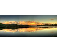 Mirror - Narrabeen Lakes, Sydney,Australia - The HDR Experience Photographic Print