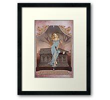 Boticelli Buffy Nouveau Framed Print