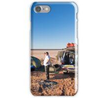 Campsite, Lake Mackay, WA iPhone Case/Skin