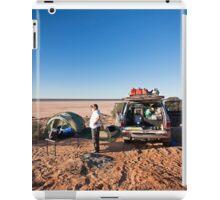 Campsite, Lake Mackay, WA iPad Case/Skin