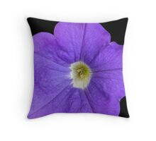 Inspired by Nature: Large Morning Glory Throw Pillow