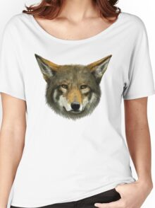 Wolf face Women's Relaxed Fit T-Shirt