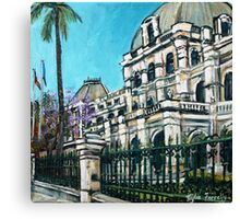Old Parliament house Canvas Print