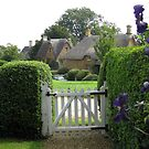 Cottage gate by machka