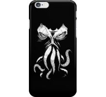 Cthulhu wakes iPhone Case/Skin