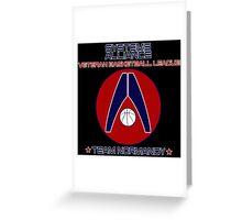 Mass Effect- Alliance Basketball League Greeting Card