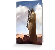 Tusken Raider Greeting Card