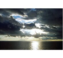 Clouds over the Ocean Photographic Print
