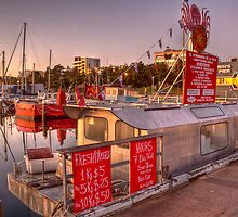 The Mussel Boat by Lynden