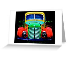 Farm Stand Truck Greeting Card