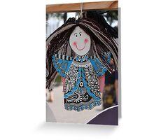 Angel-Girl Greeting Card