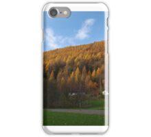 Hillside home iPhone Case/Skin