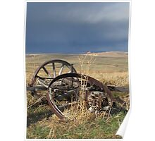 Stormy Wheels Poster