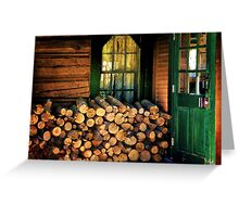 Little Country Kitchen Greeting Card