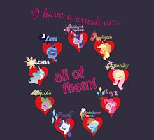 I have a crush on... all of them! T-Shirt