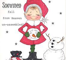 Snowmen Fall From Heaven by MarieRayner