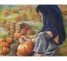 Pumpkin Patch 2010 Photographic Print
