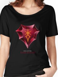 Soul of the Dark Knight -black Women's Relaxed Fit T-Shirt