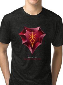 Soul of the Dark Knight -black Tri-blend T-Shirt
