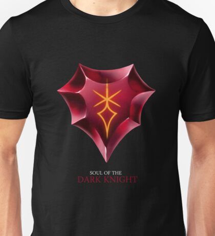 Soul of the Dark Knight -black Unisex T-Shirt