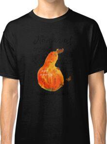 Watercolor pumpkin Classic T-Shirt