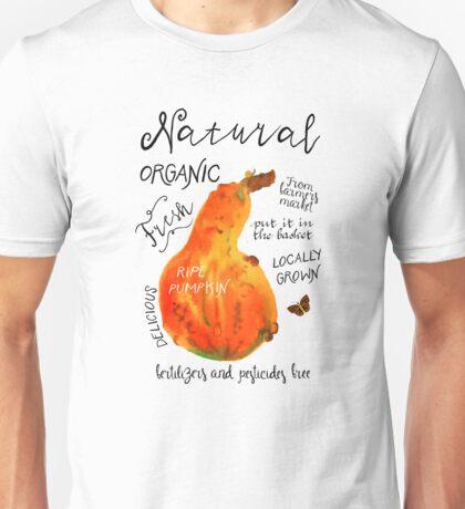 Watercolor pumpkin Unisex T-Shirt