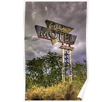 Los Alamos Motel on Route 66 Poster
