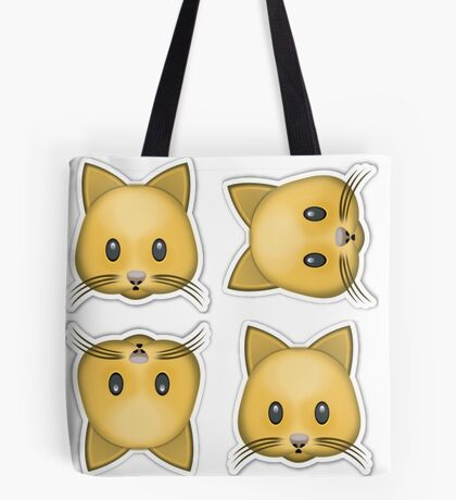 Kitty Cat Emoji  Tote Bag