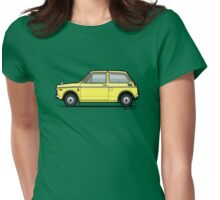 Honda N360 Yellow Kei Car Womens Fitted T-Shirt