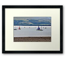 Boat Race at Midday Framed Print