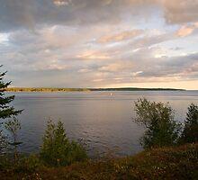 Penobscot Bay by John  Kapusta
