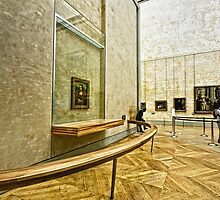 Monalisa in Louvre, Paris, France by Charuhas  Images