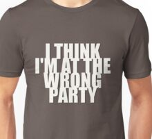 Wrong Party Unisex T-Shirt