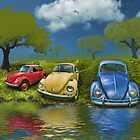 Bugs on  a Hill by kenmo